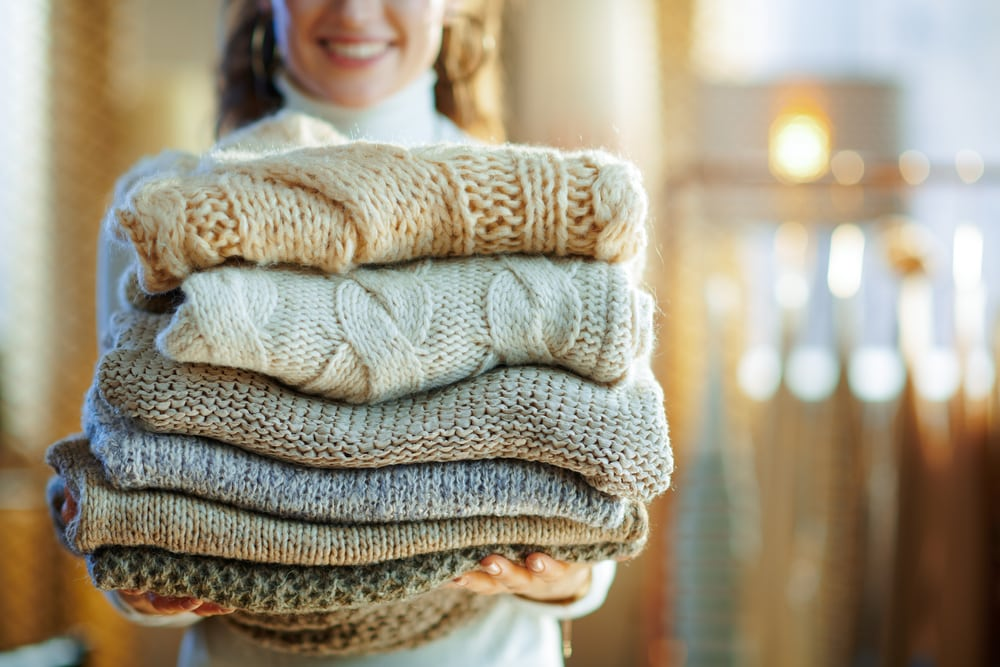 Tumbledry Dry Cleaning for Woolen Garments